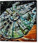 Millenium Falcon Acrylic Print
