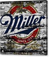Miller Beer 5b Acrylic Print