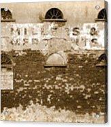 Millers Acrylic Print