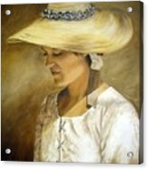 Milliners Daughter Acrylic Print