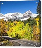 Million Dollar Highway Acrylic Print