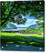 Million Dollar View From West Point Military Academy Acrylic Print