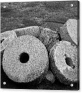 Millstones Acrylic Print