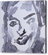 Milo Iv Acrylic Print by Khalid Alzayani