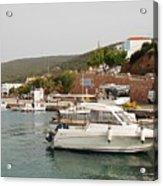 Milos On Agistri Island Acrylic Print