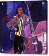 Milt Hinton Jazz Bass Acrylic Print