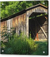 Milton Dye Covered Bridge  Acrylic Print