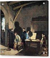 Milton Visiting Galileo Acrylic Print