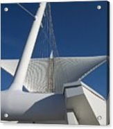 Milwaukee Art Museum Cropped Acrylic Print