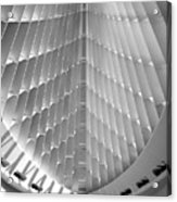 Milwaukee Art Museum Interior B-w Acrylic Print