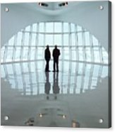 Milwaukee Art Museum Shadows Acrylic Print