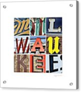 Milwaukee Acrylic Print