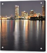 Milwaukee Skyline 2012 Acrylic Print