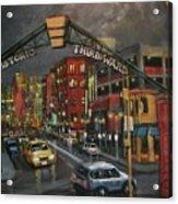 Milwaukee's Historic Third Ward Acrylic Print by Tom Shropshire