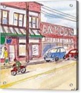 Milwaukie Avenue Acrylic Print