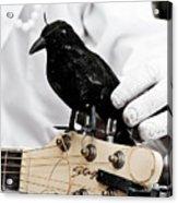 Mime's Guitar Accompanist Acrylic Print