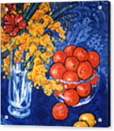 Mimosa And Tangerines Acrylic Print