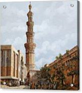 Minareto E Mercato Acrylic Print