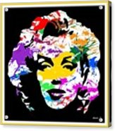Mind Altering Marilyn Acrylic Print