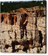 Mind Blowing Bryce Canyon View Acrylic Print