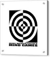 Mind Games 1se Acrylic Print