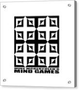 Mind Games 37se Acrylic Print