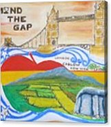 Mind The Gap Acrylic Print