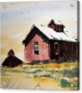 Mine Buildings Southern Cross Ghost Town Montana Acrylic Print