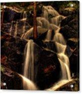 Quaking Aspen Falls Along Tioga Pass  Acrylic Print