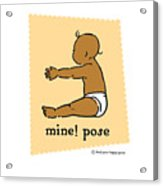 Mine Pose 2 Acrylic Print