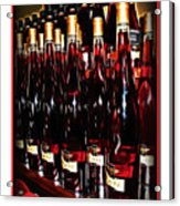 Miner Pink Sparkling Wine Acrylic Print