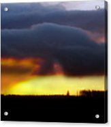 Minera Sunset 2 Acrylic Print