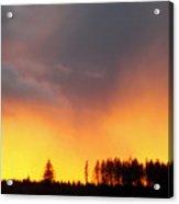 Minera Sunset Acrylic Print