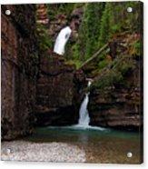 Mineral Creek Falls Acrylic Print