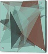 Mineral Polygon Pattern Acrylic Print