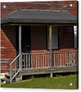 Miners Home In Eckley Village Pennyslivia Acrylic Print