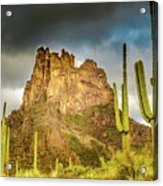 Miner's Needle In The Superstitions Acrylic Print