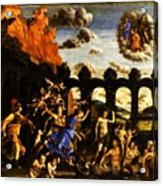 Minerva Chasing The Vices From The Garden Of Virtue 1502 Acrylic Print