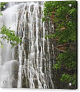 Mingo Falls Closeup Acrylic Print