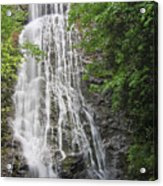 Mingo Falls In The Spring Acrylic Print