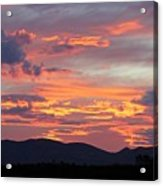Mingus Sunset 052814cc Acrylic Print
