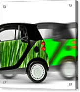 Mini Cars Acrylic Print
