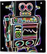 Mini D Robot Acrylic Print