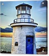 Miniature Lighthouse Acrylic Print