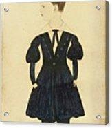 Miniature Portrait Of Charles Acrylic Print