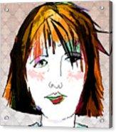 Minimal Makeup Acrylic Print