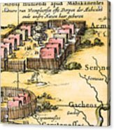 Minisink Village, 1650s Acrylic Print