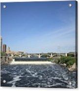 Minneapolis - Saint Anthony Falls Acrylic Print
