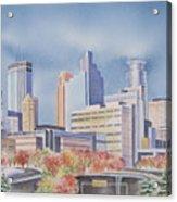 Minneapolis Skyline Acrylic Print