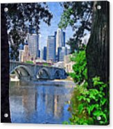 Minneapolis Through The Trees Acrylic Print